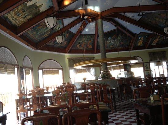 Ta Prohm Hotel : Breakfast room