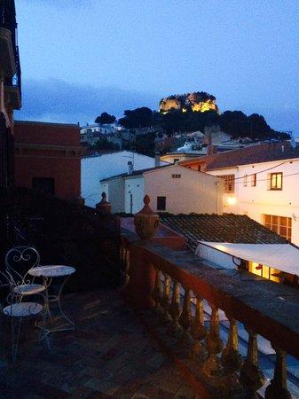 Aiguaclara Hotel: Terraza de la habitación Aiguablava