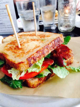 Chuck's : Grilled BLT on house made sourdough- better than Merritt's, this is my new favorite !