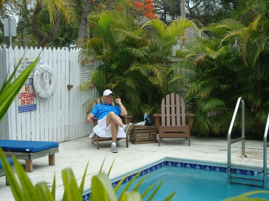 The Conch House Heritage Inn: Chilling by the pool - comfortable, peaceful, private