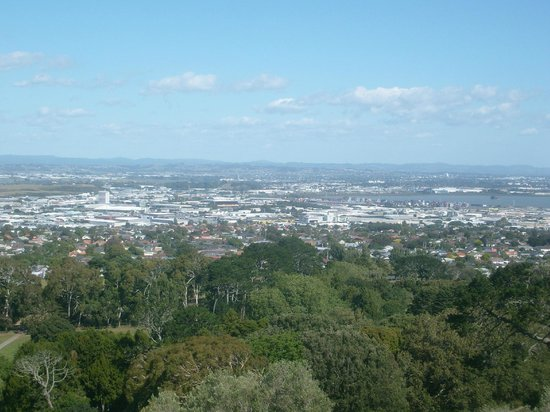 One Tree Hill (Maungakiekie): View