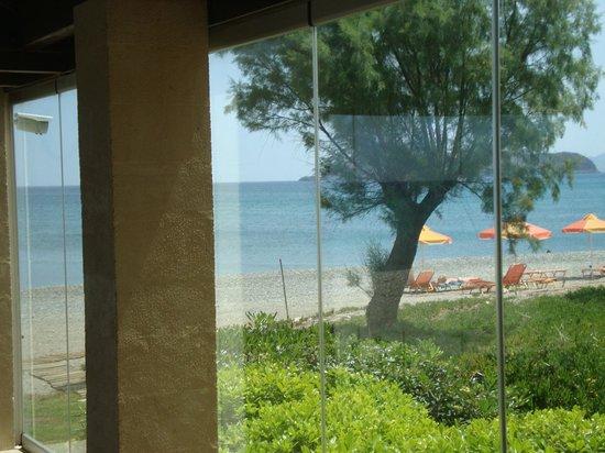 Silver Beach Hotel: widok na plaże