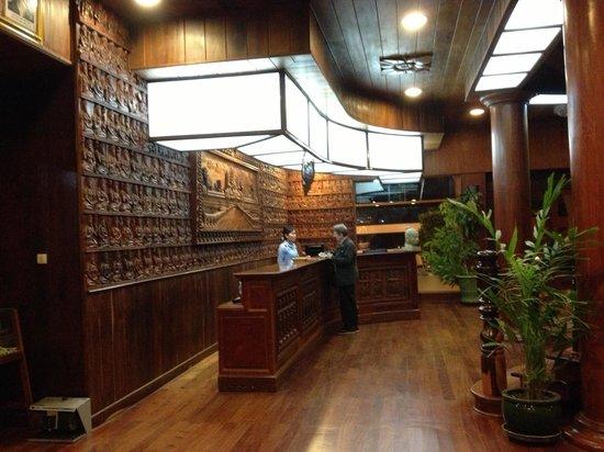 Ta Prohm Hotel: The reception