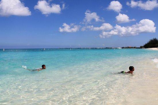 Governor's Beach: swimming