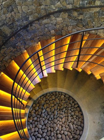 Andaz Peninsula Papagayo Resort: Staircase at the spa