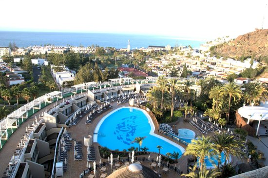 Gloria Palace San Agustín Thalasso & Hotel: view form the room