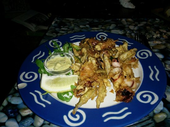 Lo Steccheto: Frittura mista di pesce