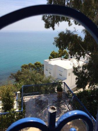 La Villa Bleue: Vue
