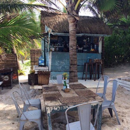 BeTulum Restaurant and Lounge : Cocktail bar at be Tulum