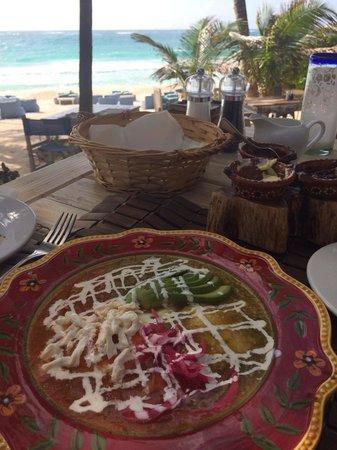 BeTulum Restaurant and Lounge : Breakfast at Be Tulum