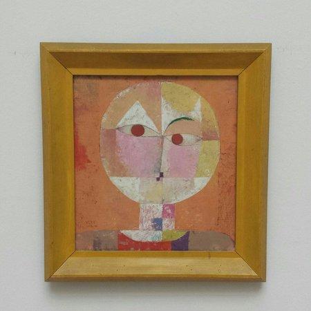 Museo de Bellas Artes: Senecio di Paul Klee