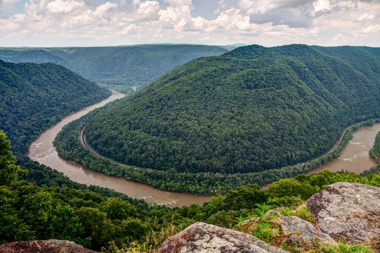 New River Gorge: Grandview - Main Overlook