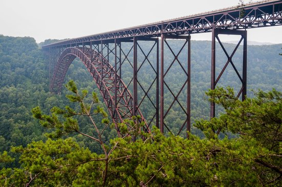Virginia Barat: New River Gorge Bridge