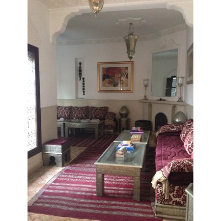 Riad Assakina : One of the many sitting areas