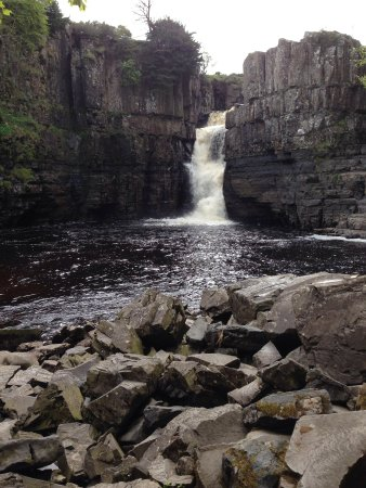 High Force Waterfall: England's highest Fall