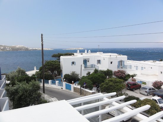 Adonis Hotel: View from balcony