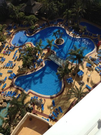 Hotel Flamingo Oasis: View from balcony
