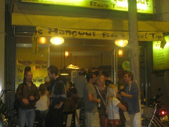 The Hangout Bar: The best late bar in town