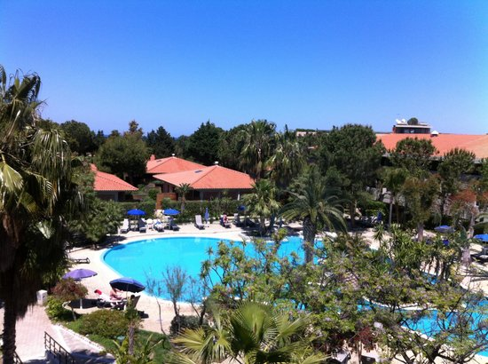 Fiesta Hotel Garden Beach: View from our balcony