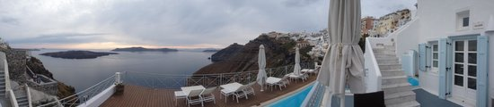 Athina Luxury Suites: View from patio