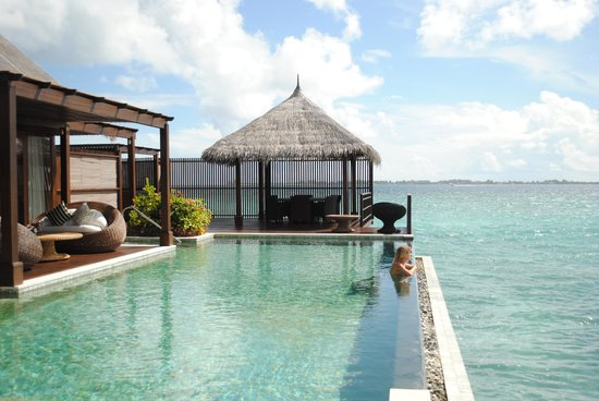Shangri-La's Villingili Resort and Spa Maldives: Villingili Resort Luxury villa
