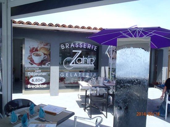 Facade de la Brasserie le Zahir