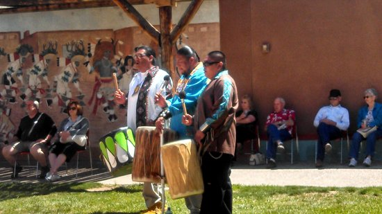 Indian Pueblo Cultural Center : The rhythm section