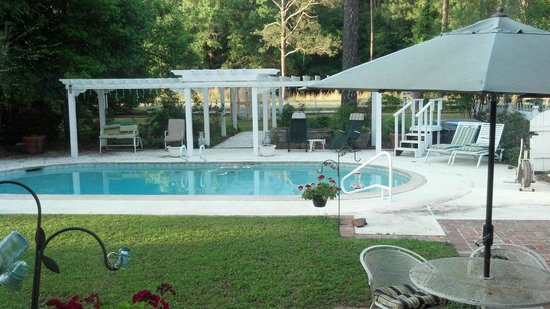Homerville, GA: Pool area