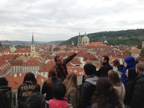 SANDEMANs NEW Prague Tours: Colin addressing our group ...