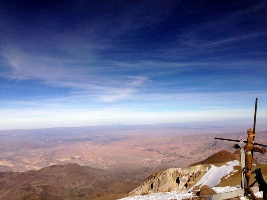 Chachani: Gipfelkreuz