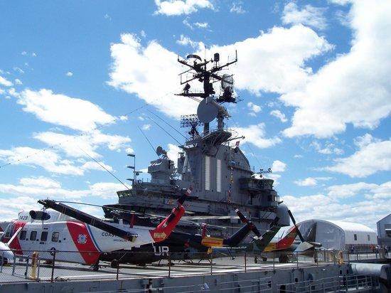 Intrepid Sea, Air & Space Museum: USS Intrepid (On Deck)