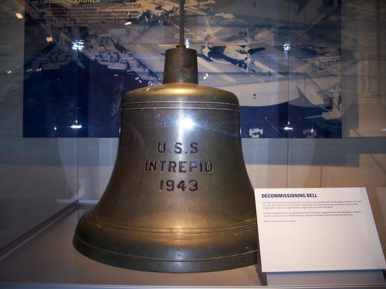 Intrepid Sea, Air & Space Museum: The Decommissioning Bell