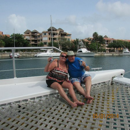 Catamaya Sailing Cruises: THE BEST SPOT ON THE VESSEL