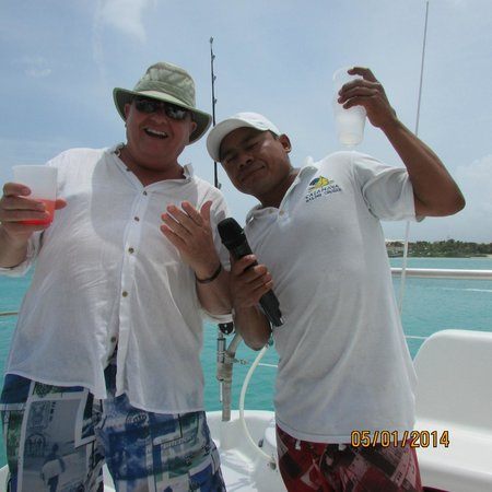 Catamaya Sailing Cruises: CAN'T FORGET THE TEQUILA TOAST!