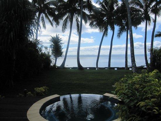 Beqa Lagoon Resort: Small Pool Behind Each Bure