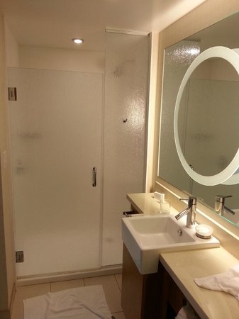 SpringHill Suites Pensacola : shower