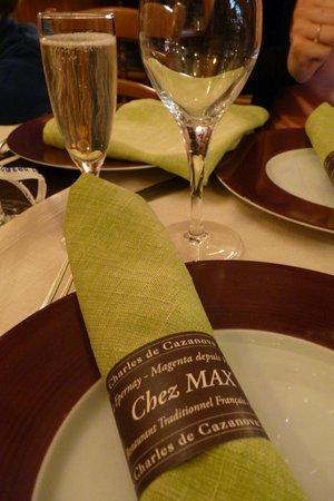 Restaurant Chez Max : Chez Max