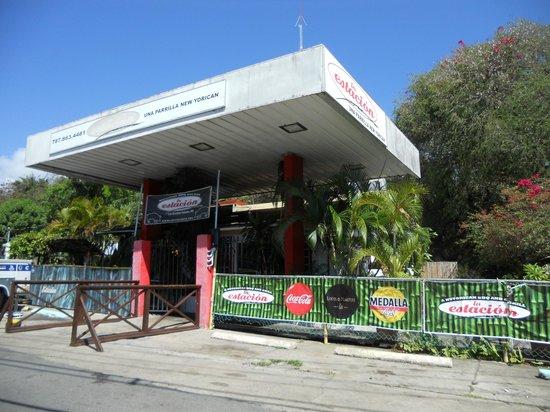 La Estacion: don't let the gas station look fool you...