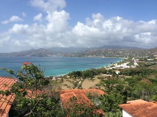 Mount Cinnamon Resort & Beach Club: view from villa 10