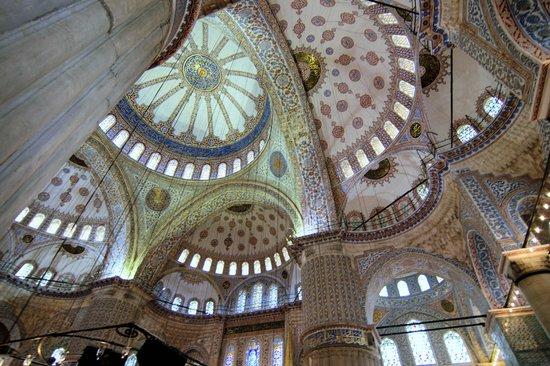 World Heritage Hotel Istanbul: Interior shot of Blue Mosque near hotel