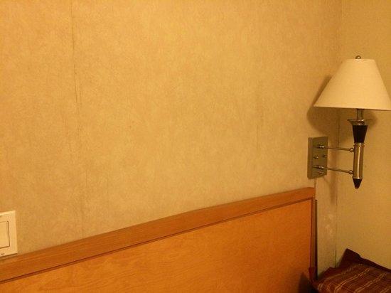 Grant Plaza Hotel: Bedroom wall