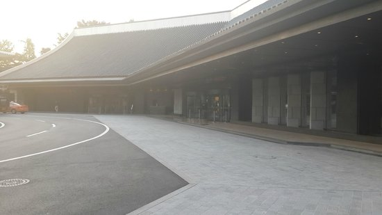 The Shilla Seoul : Hotel Entrance