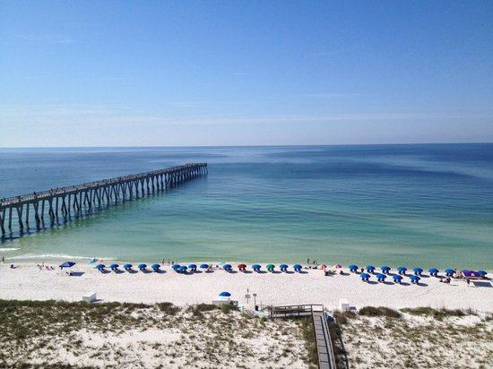 Navarre Beach View Of Pier From Condo