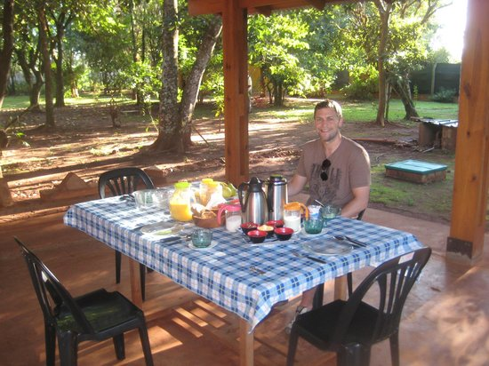 Casa Yaguarete: Breakfast set us up for a day of exploring!