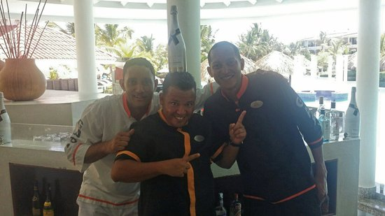 The Reserve at Paradisus Punta Cana: Rodolfo, Francisco e Julio Garcia