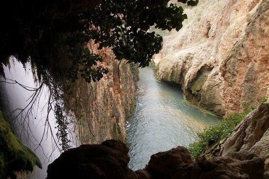 Hotel Monasterio de Piedra & Spa: cascada