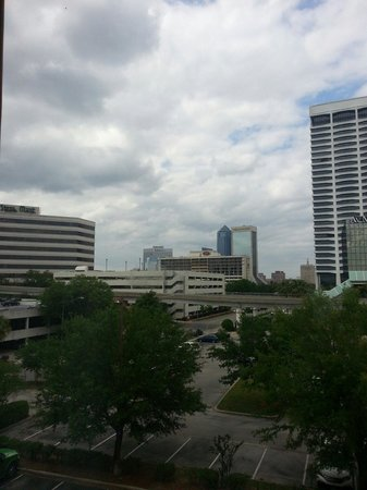 Hampton Inn Jacksonville Downtown I-95: View from our room