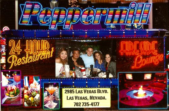 The Peppermill Restaurant & Fireside Lounge: Nuestra visita a Peppermill