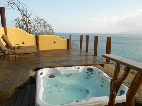 Maca Bana : Great private deck with views