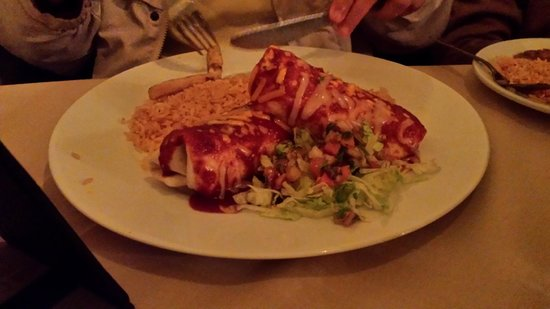 El Serrano : Food looked good and tasted good
